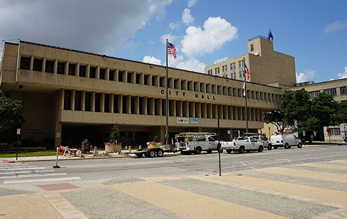 City of Fort Worth Texas city hall tree removal permit