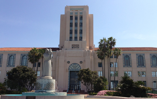 City of San Diego California city hall tree removal permit